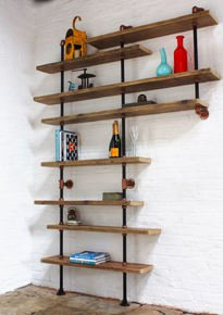 Barney Floor and Wall Mounted Shelving