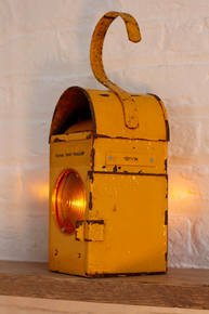 Kenyon Railway Signal Candle Holder Lantern