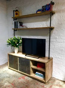 Lori Media Unit with Open Storage