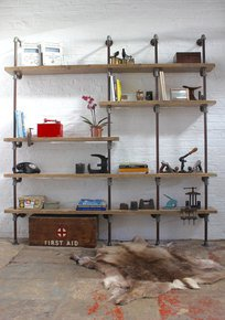 Nathan Floor & Wall Mounted Bookcase