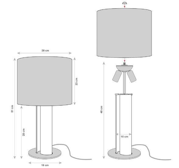 Cameron peters alfier venetian glass table light%e2%80%93gold cameron peters fine lighting treniq 1 1519057134073
