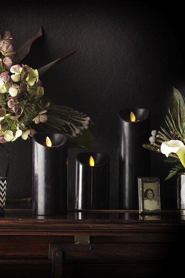 Luminara black led candles brave boutique treniq 1 1519150742323