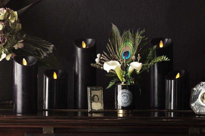 Luminara black led candles brave boutique treniq 1 1519150751796