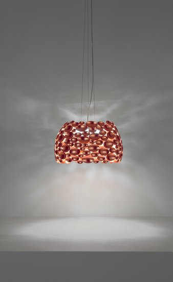 Anish small suspension lamp copper leaf terzani treniq 1 1519210012111