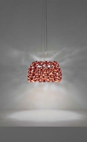 Anish medium suspension lamp copper leaf terzani treniq 1 1519210722370