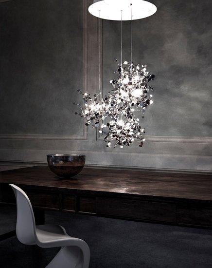Argent suspension lamp stainless steel terzani treniq 1 1519211879572
