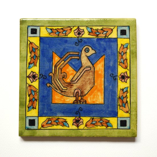 Hand painted tile no.3 wecanart treniq 1 1519758257861