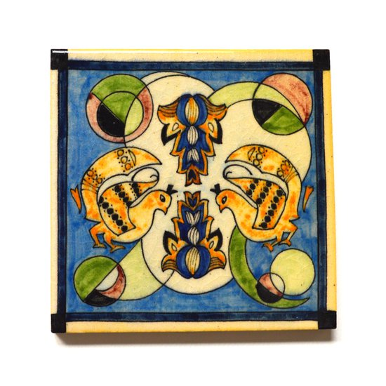Hand painted tile no.4 wecanart treniq 1 1519758760879