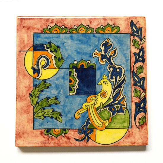 Hand painted tile no.6 wecanart treniq 1 1519759441157