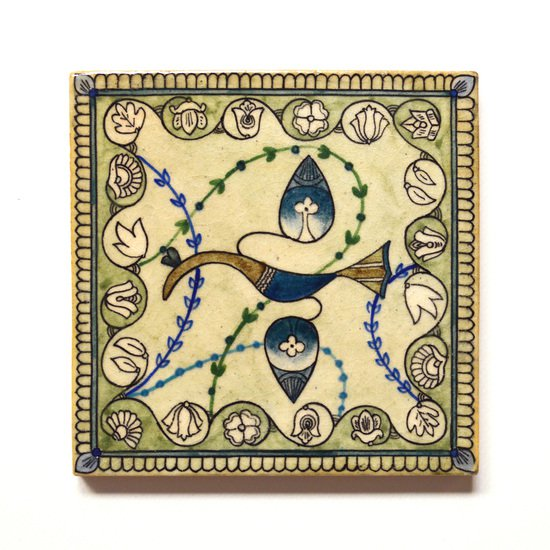 Hand painted tile no.11 wecanart treniq 1 1519760213630