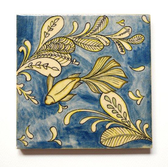 Hand painted tile no.14 wecanart treniq 1 1519760760749