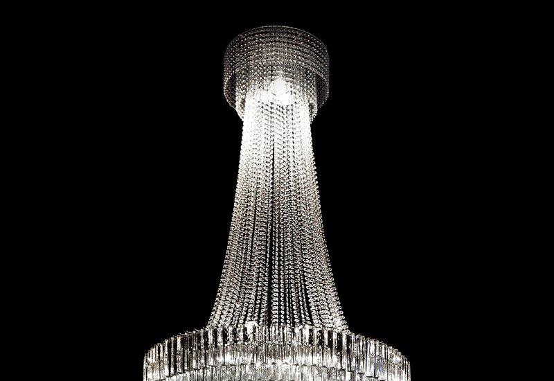 Italian crystal chandelier il paralume marina treniq 2
