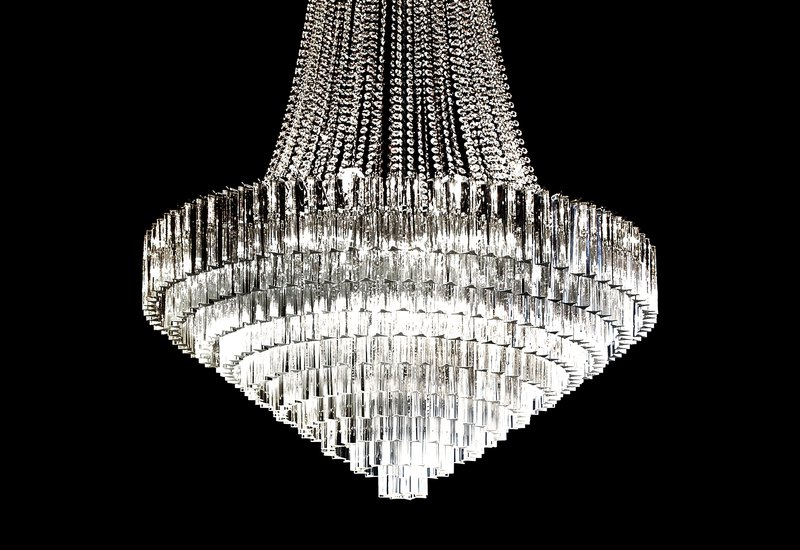 Italian crystal chandelier il paralume marina treniq 3