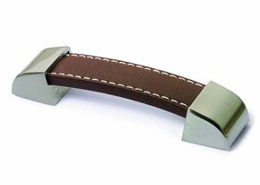 Agliano Leather Cupboard Handle