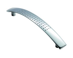 Dimple Effect Curved Handle