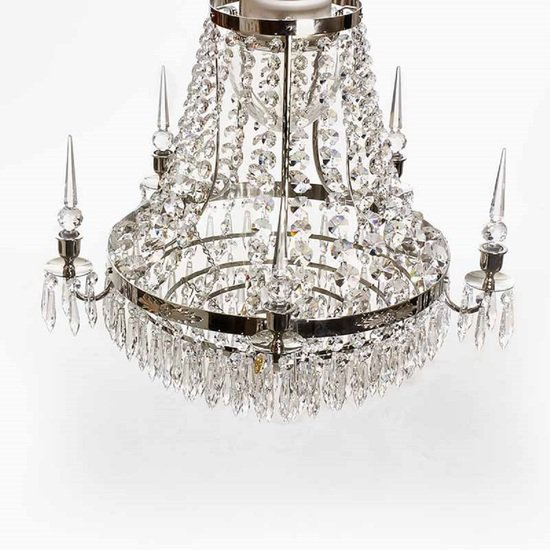 Large chrome bathroom chandelier gustavian treniq 6 1519738461559