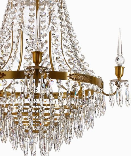 Large brass bathroom chandelier gustavian treniq 4 1519738910117