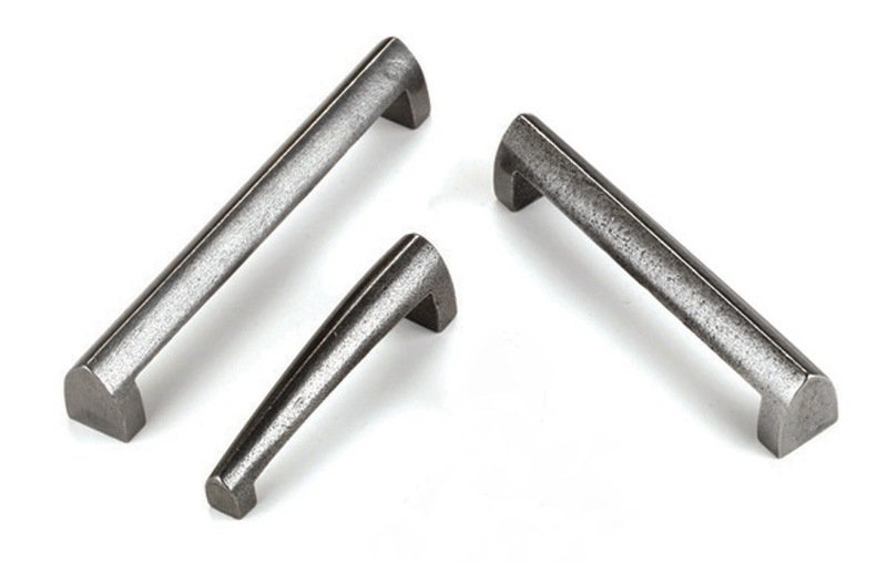 Gothic cast iron latch handl 2