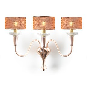 Rose Brass Wall Lamp - IL Paralume Marina - Treniq