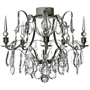 Chrome-Bathroom-Chandelier-With-Crystal-Pendeloques-And-Spears_Gustavian-Style_Treniq_0