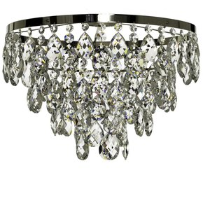 Chrome-Bathroom-Chandelier-With-Crystals-(Low-Ceilings)_Gustavian-Style_Treniq_0