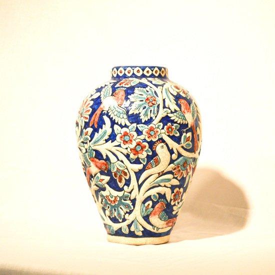 Hand painted relief vase no.9 wecanart treniq 1 1520111937749
