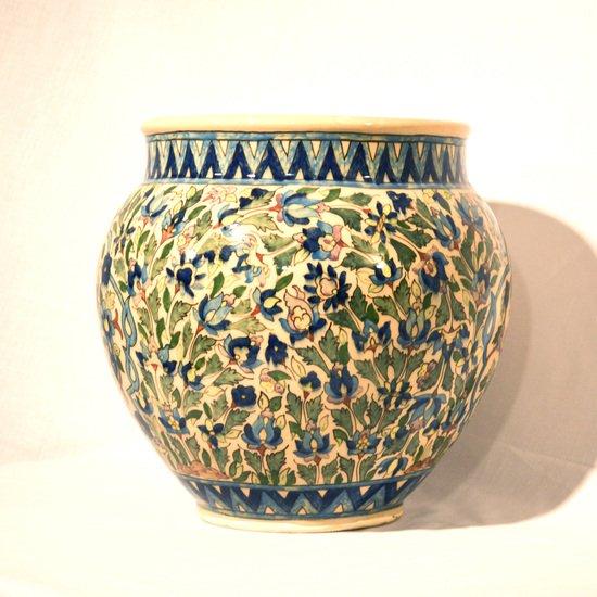 Hand painted planting vase no.1 wecanart treniq 1 1520194931572