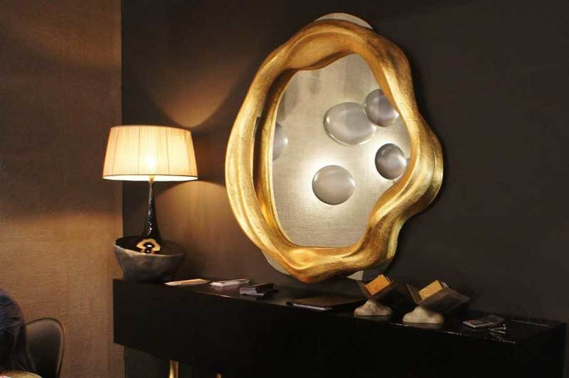 Table lamp fiberglass bronze onix 5 355 1600 1200 100