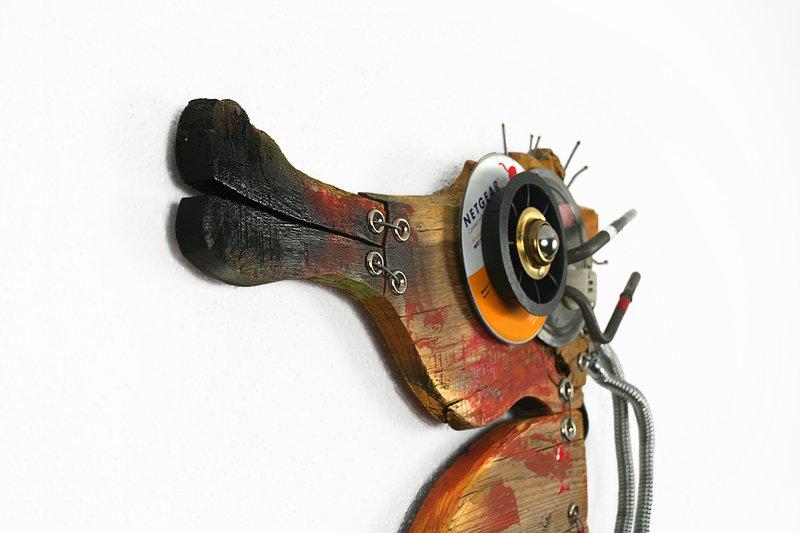 Orange seahorse scoobafish art treniq 1 1520495445114