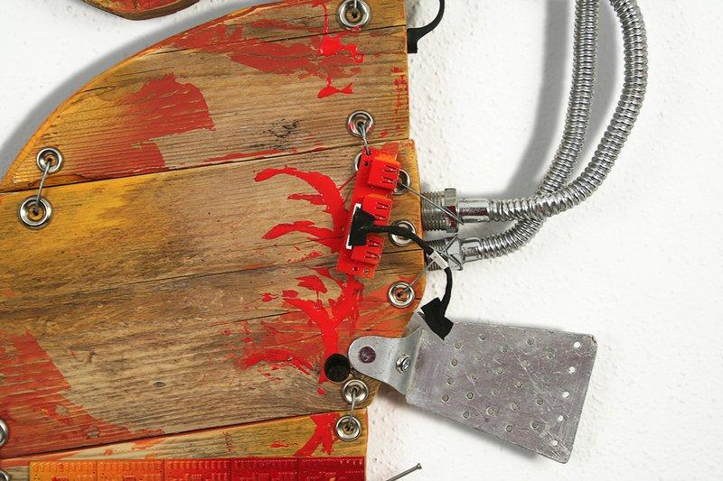 Orange seahorse scoobafish art treniq 1 1520495445110