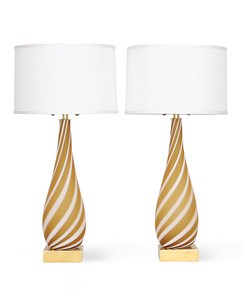 Pair-Of-Murano-Glass-Lamps-In-Butterscotch-And-White_Sergio-Jaeger_Treniq_0