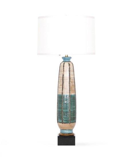 Mid century modern 1950s tall pottery lamp sergio jaeger treniq 1 1520557027622