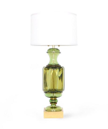 Marbro green murano glass urn lamp by seguso sergio jaeger treniq 1 1520560341650