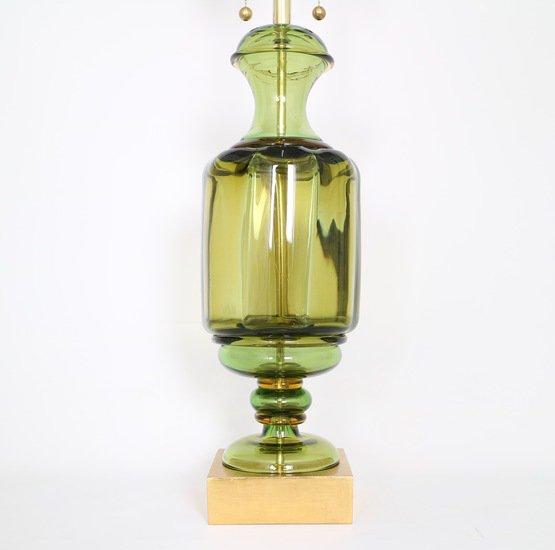 Marbro green murano glass urn lamp by seguso sergio jaeger treniq 1 1520560355082