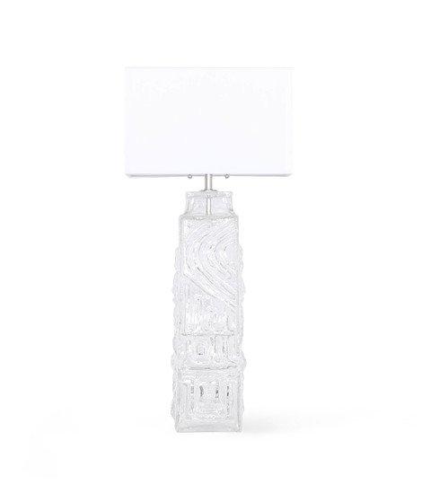 Monumental pukeberg swedish sculptural glass lamp sergio jaeger treniq 1 1520562740577