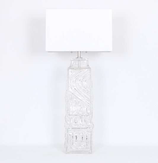 Monumental pukeberg swedish sculptural glass lamp sergio jaeger treniq 1 1520562740579