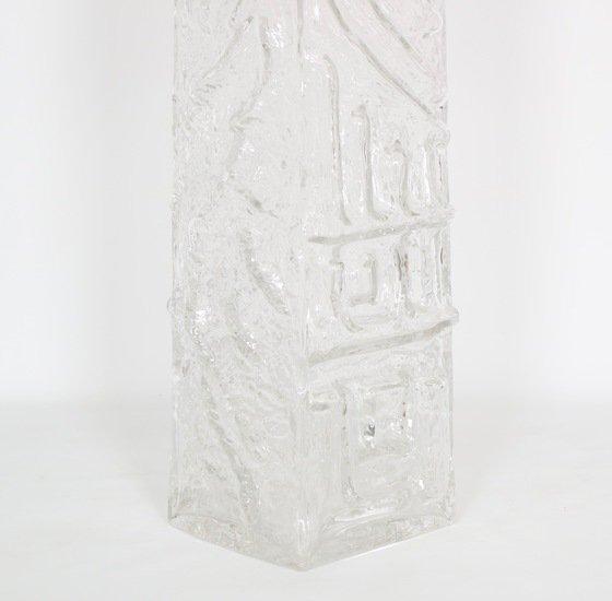 Monumental pukeberg swedish sculptural glass lamp sergio jaeger treniq 1 1520562740584