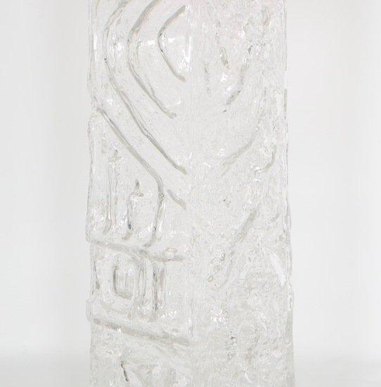 Monumental pukeberg swedish sculptural glass lamp sergio jaeger treniq 1 1520562740585