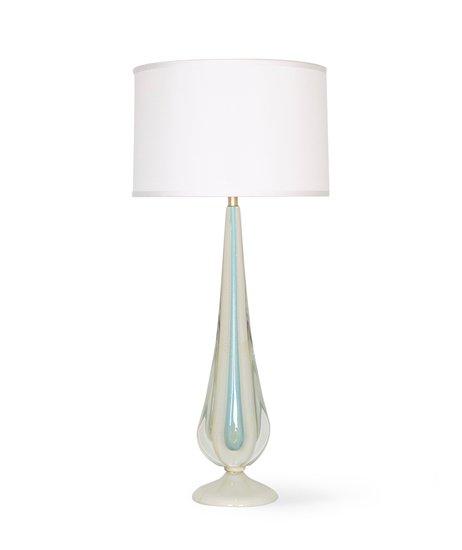 Flavio poli for seguso sommerso lamp in blue and white with gold aventurine sergio jaeger treniq 1 1520651595042