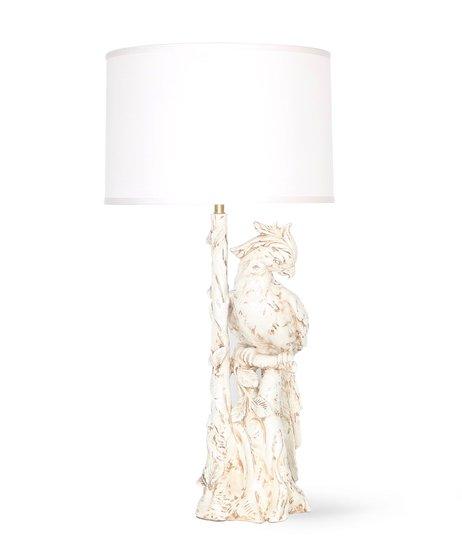 Hollywood regency italian majolica parrott lamp sergio jaeger treniq 1 1520652247550
