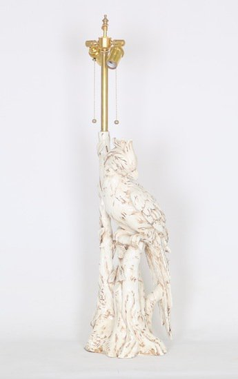 Hollywood regency italian majolica parrott lamp sergio jaeger treniq 1 1520652272329