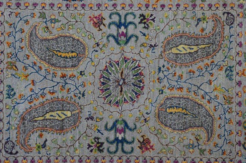 Gray suzani rug  talam   khaadi treniq 1 1520757167738