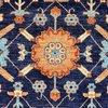 Vibrant navy chobi rug  talam   khaadi treniq 1 1520757983432