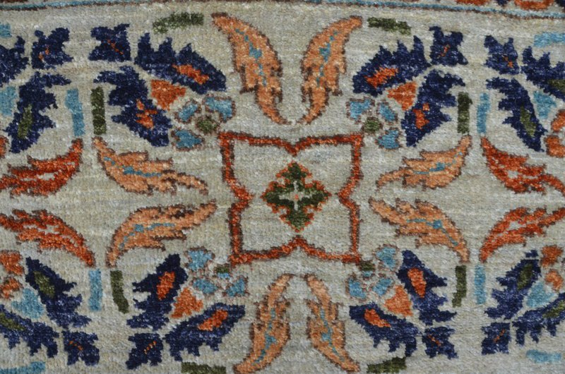 Vibrant silver gray chobi rug talam   khaadi treniq 1 1520760252037