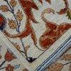 Bijar white vibrant rug  talam   khaadi treniq 1 1520760857906