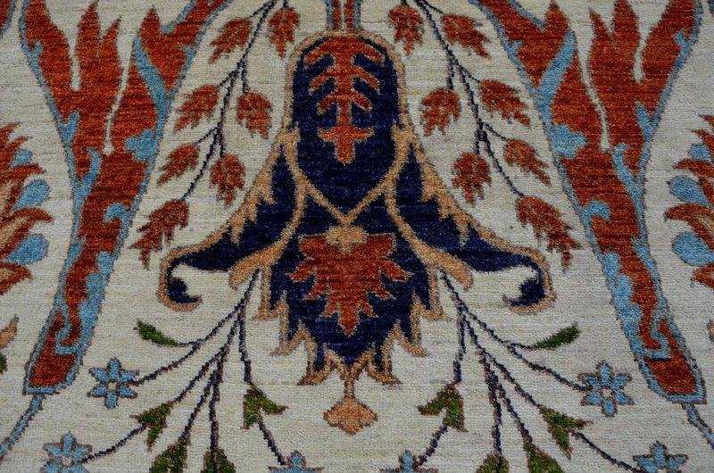 Bijar white vibrant rug  talam   khaadi treniq 1 1520760838988