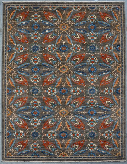 Vibrant gray chobi rug  talam   khaadi treniq 1 1520761341886