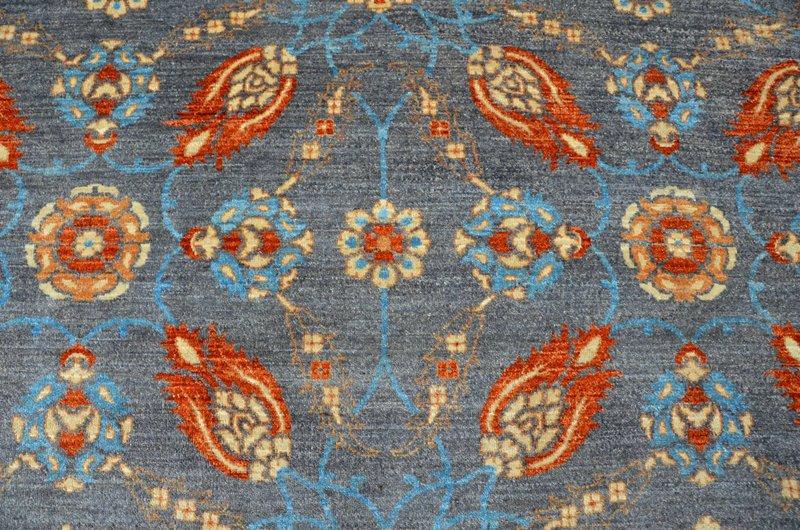 Vibrant gray chobi rug  talam   khaadi treniq 1 1520764709254