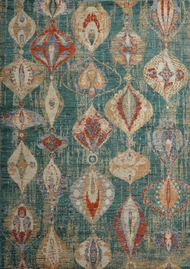 Green modern abstract rug  talam   khaadi treniq 1 1520770448380