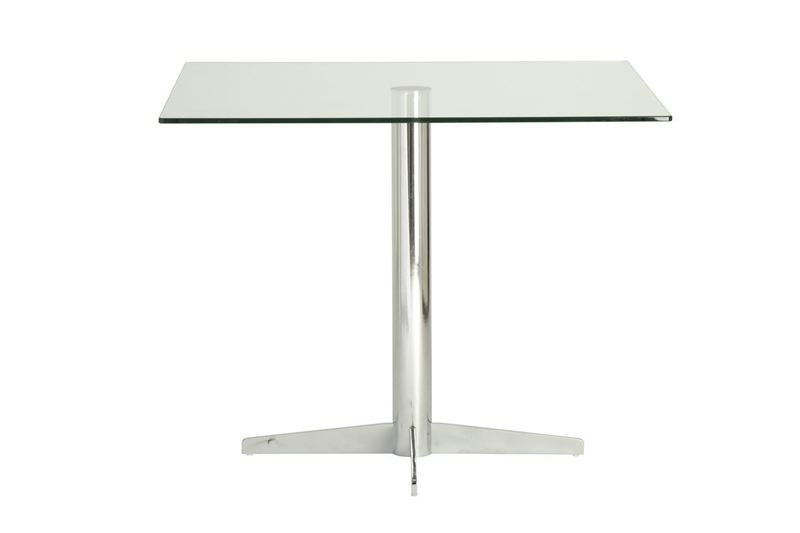 Classic cross base elbow dining table futureglass treniq 1 1520943849313